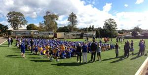 Manly West Oval opening 2014